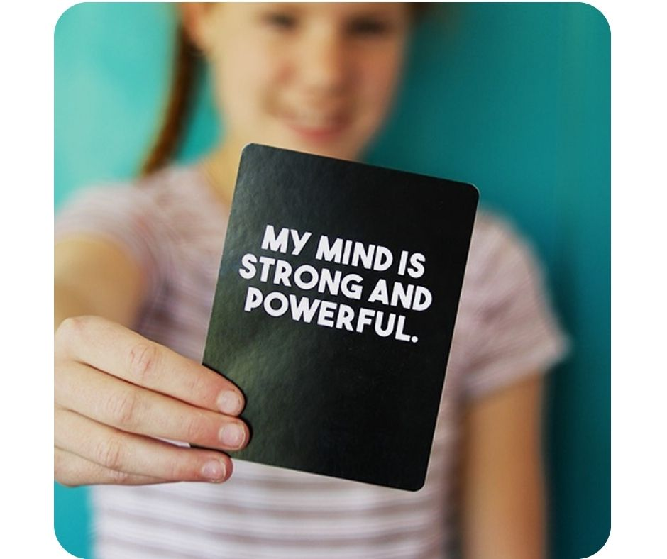 Children's affirmation cards