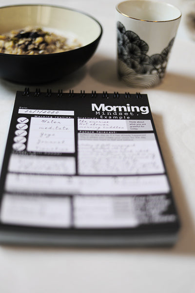 Morning mindset planner