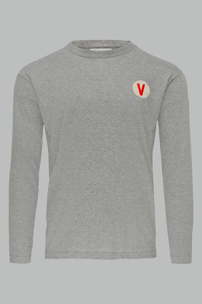 V LONG SLEEVE TEE