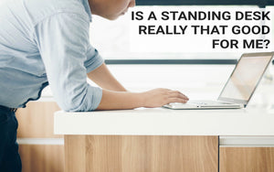 Dr. David Lee and Standing Work Stations