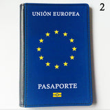 Official Style European Union Passport Cover - Various Languages