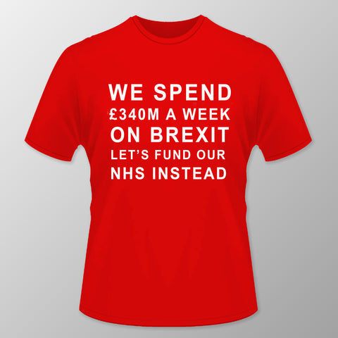 Let's Fund Our NHS T Shirt - RED