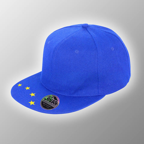 EU Snap-Back Flat Peaked Hat