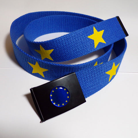 Flag of Europe 12 Star Belt