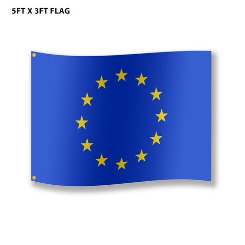 EU Flag - Large approx 90 x 150 cm