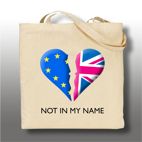 NOT IN MY NAME Tote Bag