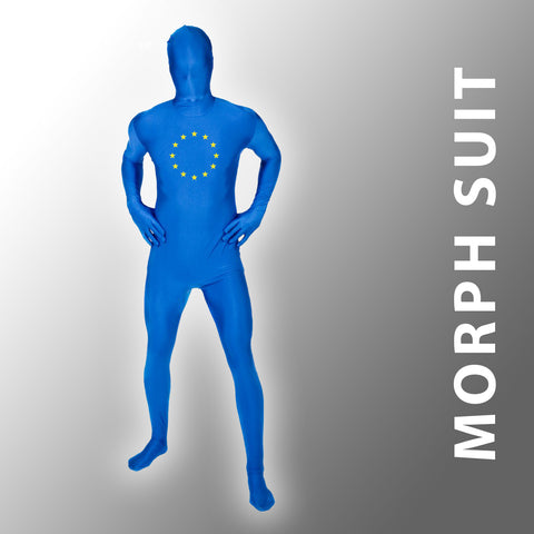 Flag of Europe Morph Suit