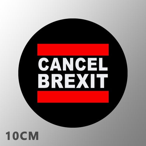 'Cancel Brexit' Car Stickers