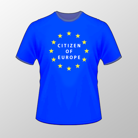 Citizen of Europe T Shirt