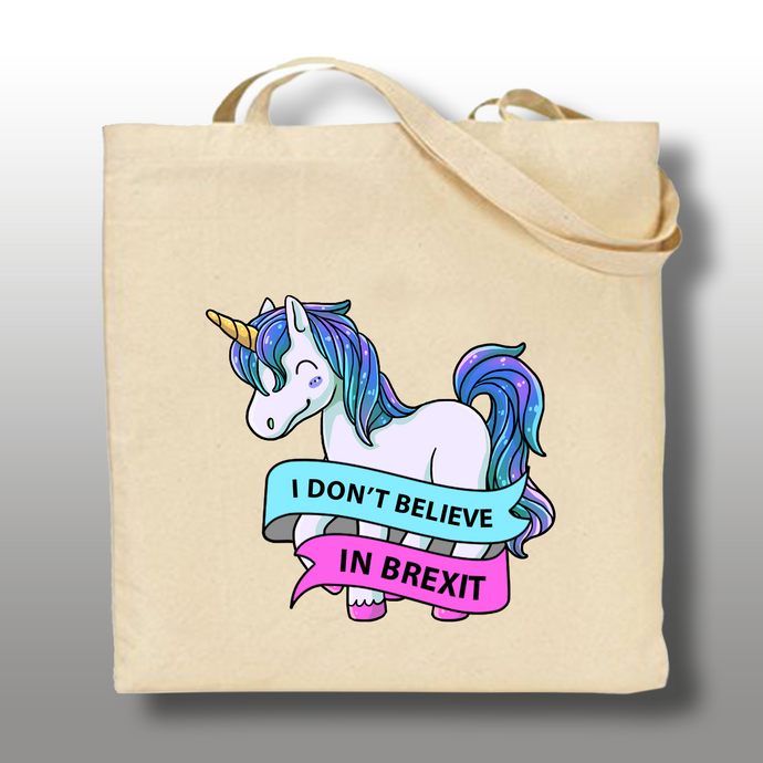 Anti Brexit Unicorn Tote Bag