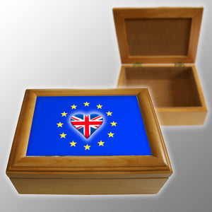 Heart EU Keepsake Box