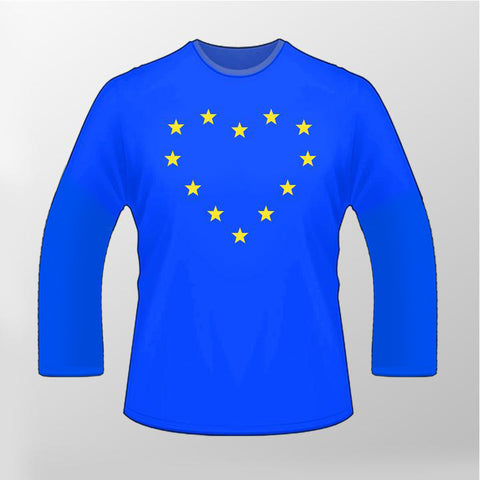 Heart EU Long Sleeved T Shirt