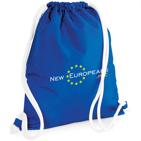 'NEW EUROPEANS' Drawstring Bag