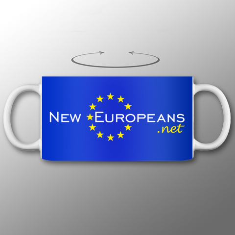 'NEW EUROPEANS' Mug