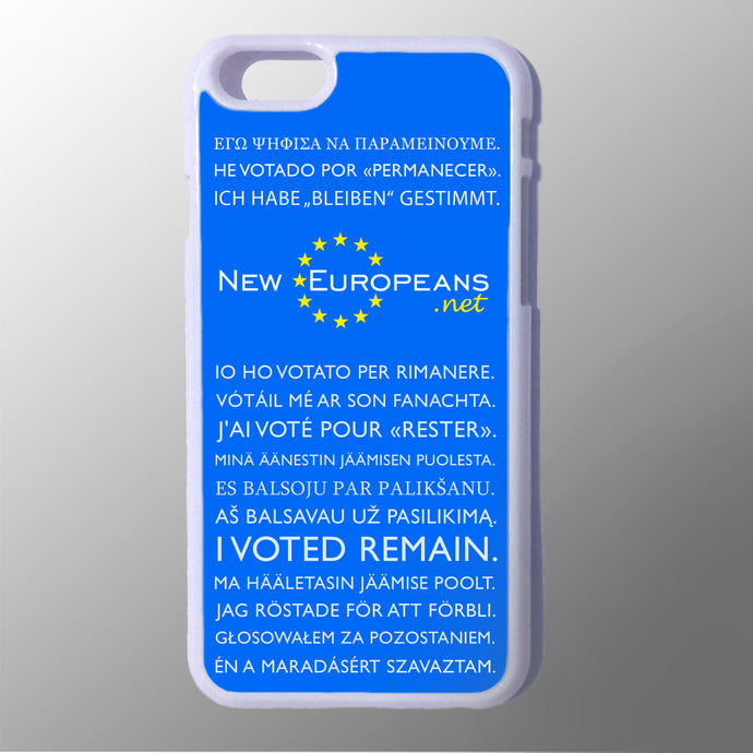 New Europeans Phone Case - Various Models