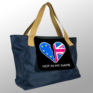 NOT IN MY NAME - LONDON STYLE SHOPPING BAG