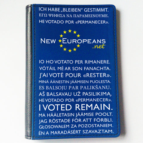 New Europeans Passport Cover
