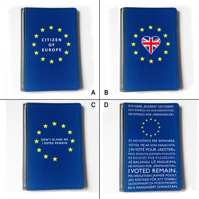 Passport Cover - Various Designs