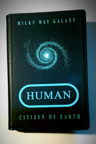 HUMAN Passport Cover