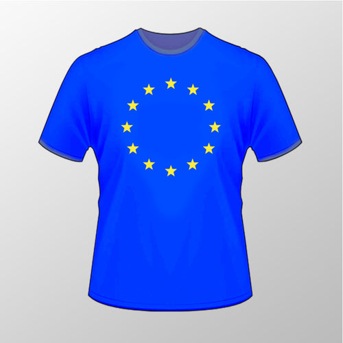 Flag of Europe T Shirt