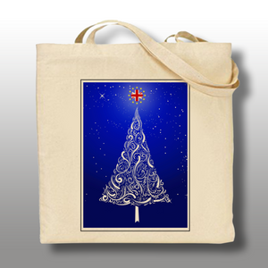 EU Christmas Tree - Tote Bag