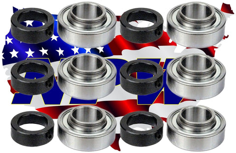 PACK of  6 BEARING BALL 1 X 2,CUB CADET IH-60071-C92, GRASSHOPPER 120081,B00CNUIA7A