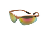 SAFETY GLASSES TALON 119 RED REVO ORANGE