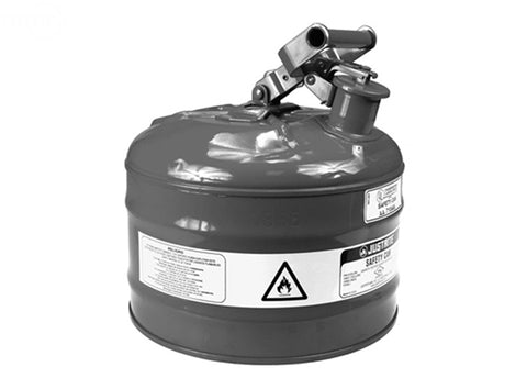 SAFETY GAS CAN TYPE 1 METAL 2 GALLON
