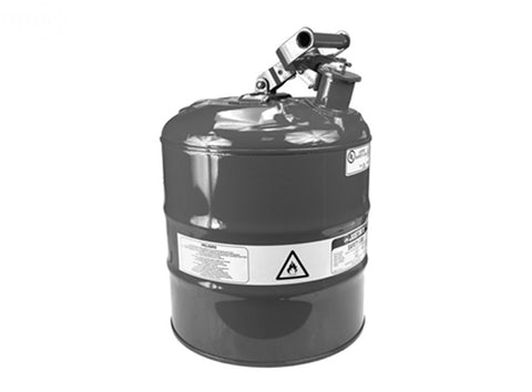 SAFETY GAS CAN TYPE 1 METAL 5 GALLON
