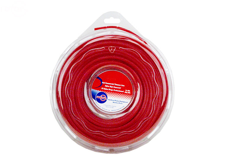 LINE TRIMMER .155 1 LB. DONUT RED COMMERCIAL