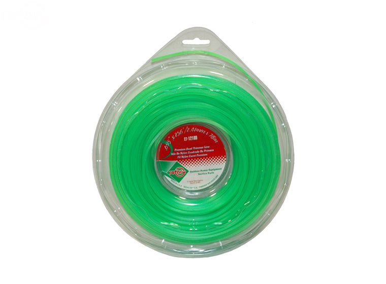 LINE TRIMMER .095  256' LGE DONUT QUAD GREEN