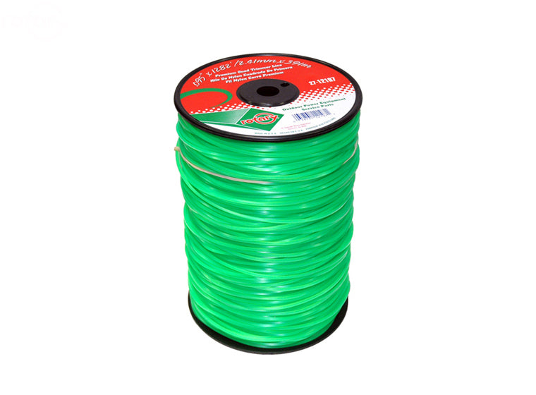 LINE TRIMMER .095'  1285' LGE SPOOL QUAD GREEN