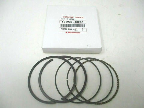 Genuine 13008-6028 Kawasaki Piston Ring Set FE350D