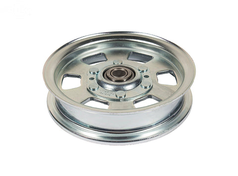"FLAT IDLER PULLEY, 5.75""FLAT IDLER MOWER DECK PULLEY BAD BOY 033-7201-00 MZ ZT OUTLAW SERIES 48 50 54 60"