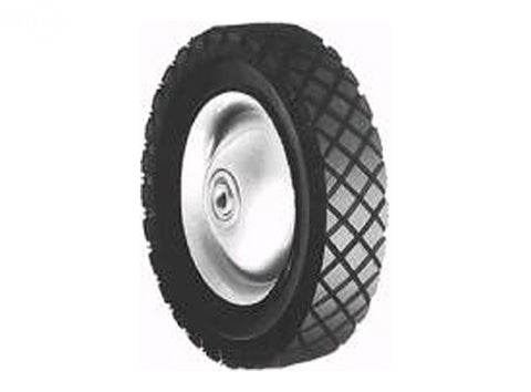 WHEEL STEEL 8 X 1.75 SNAPPER (PAINTED WHITE)