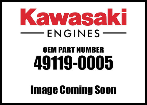 Kawasaki Engine Crankshaft Assembly 49119-0005 New OEM