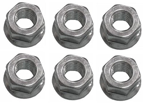 Flanged Bar Nuts 6 Pack Replaces Husqvarna 503220001