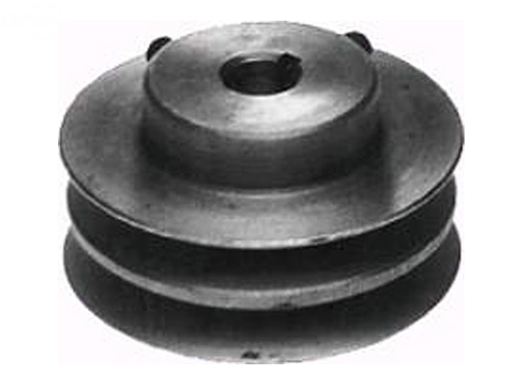 "PULLEY DOUBLE 5/8"" X 3-7/16"" BOBCAT"