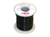 WIRE PRIMARY BLACK 16 AWG 25'