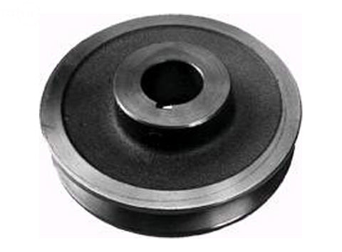"PULLEY TRANSMISSION 1""X 4-1/2"" EXMARK"