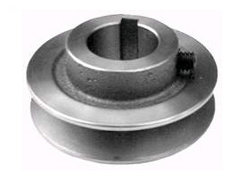 "PULLEY TRANSMISSION 1""X 2-3/4"" EXMARK"