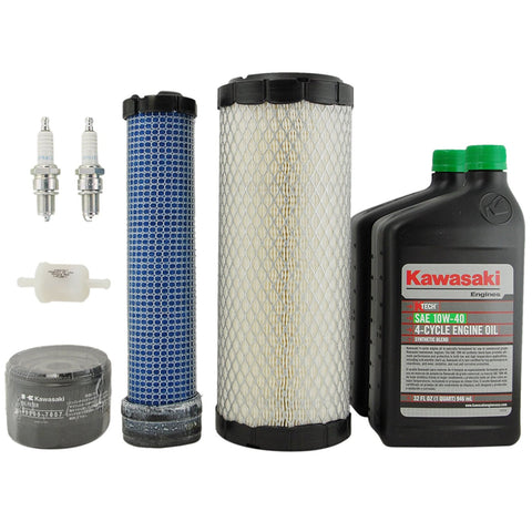 Genuine Kawasaki 99969-6409 Tune Up Kit For FX651V FX691V FX730V 10W-40, 99969-6374 not in Kawasaki box