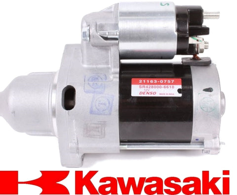 Genuine Kawasaki 999966121, 99996-6121 12 Volt Electric Starter Replaces 21163-0757 OEM