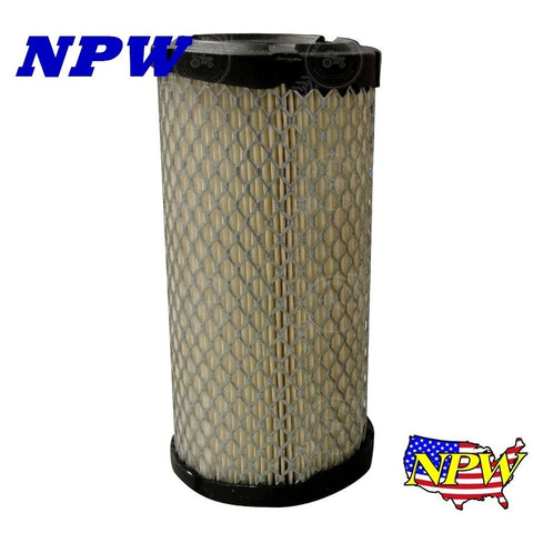 K1211-82320 New Kubota Tractor Mower Air Filter BX1500 BX1800 BX22 BX24 BX25, AF3322