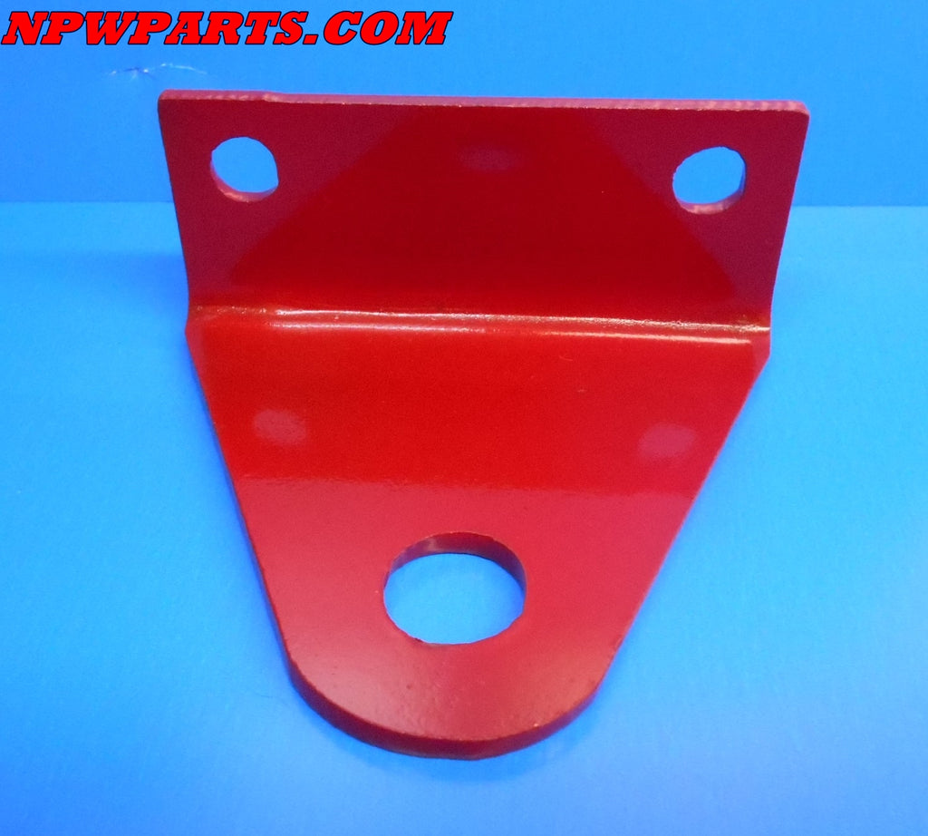 "RED Universal Zero Turn (ZTR) Mower Trailer / Tow Hitch - 3 in mt - 3/4"" pin hole"