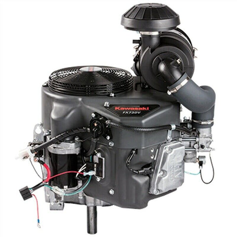 "Kawasaki FX730V-DS12S 23.5 HP OHV Electric Start Engine 15A HDAC 1"" x 3-5/32"""