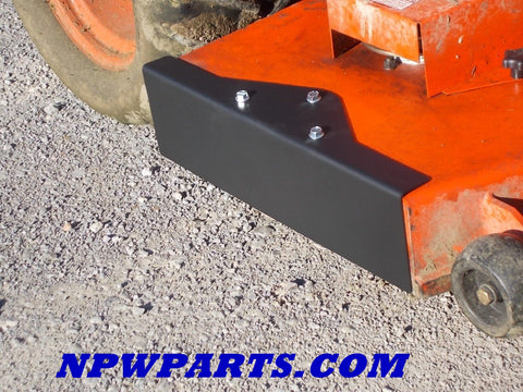 "NPW Chute Blocker for Bad Boy CZT & CZT Elite 54"", 60"", 61"" & 72"""