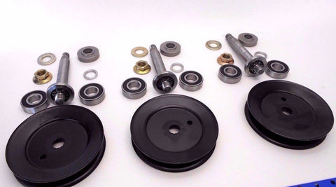 CADET RZT 50 SPINDLE BEARING PULLEY KIT --SET OF THREE 2004-2013,738-1010A, 756-04216