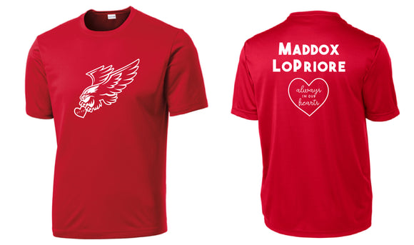 Shirts to honor Maddox LoPriore
