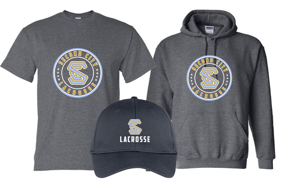 Second City Lacrosse spiritwear - order by 11/30 at noon